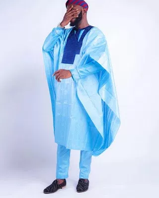 Short Agbada for Men 01