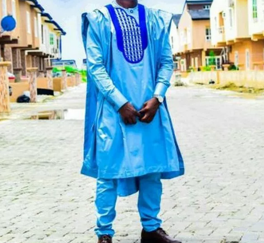 Short Agbada for Men 02