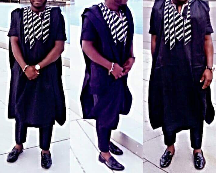 Short Agbada for Men 11