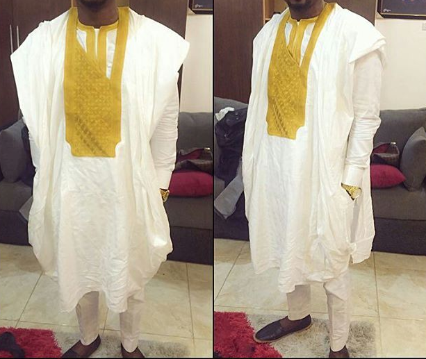 Short Agbada for Men 12