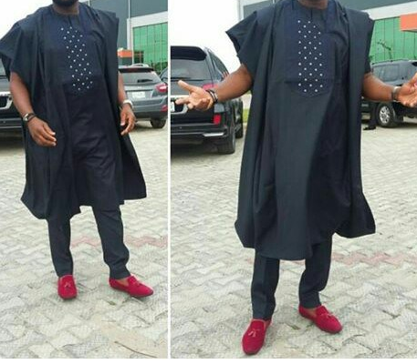 Short Agbada for Men 13