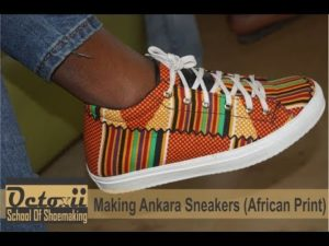 Ankara Shoes for Guys